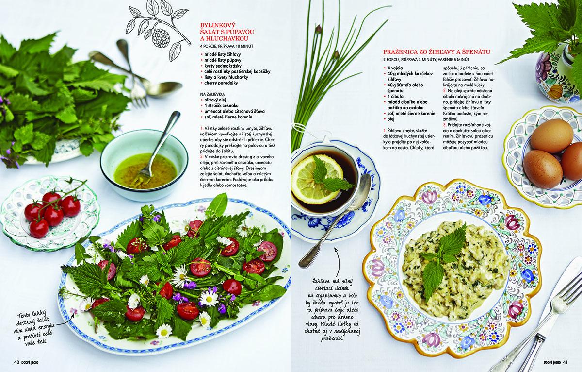 Časopis Dobre jedlo - Babičkina záhrada